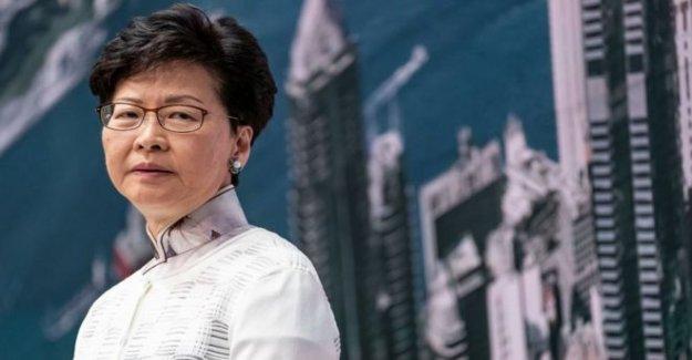 EE.UU. impone sanciones a jefe ejecutivo de Hong Kong