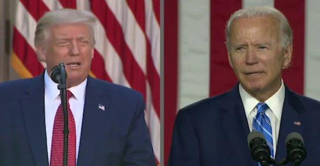 El Debate de la comisión rechaza Trump empuje extra enfrentamiento con Biden