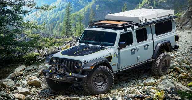 El Jeep Gladiator Farout diesel de recogida honor a su nombre