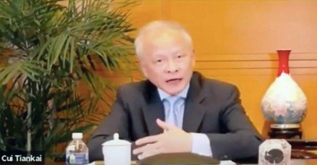 El embajador de China NOS golpea el Triunfo para COVID-19 culpa