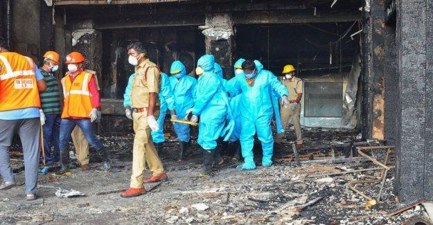 El fuego mata a 11 pacientes en el sur de la India COVID-19 instalación