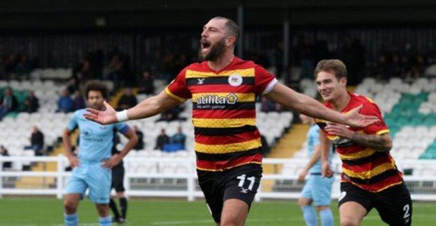 El futbolista, que firmó un £1 semana trato