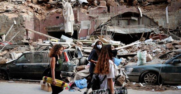 El gas lacrimógeno, los enfrentamientos en Beirut en medio de la furia por explosión masiva