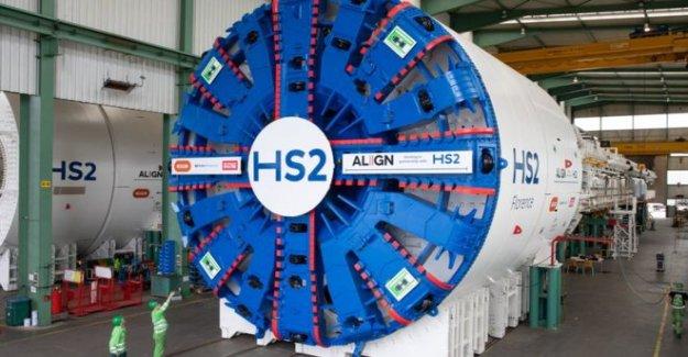 El gigante de máquinas de perforación de túneles para HS2 desvelado
