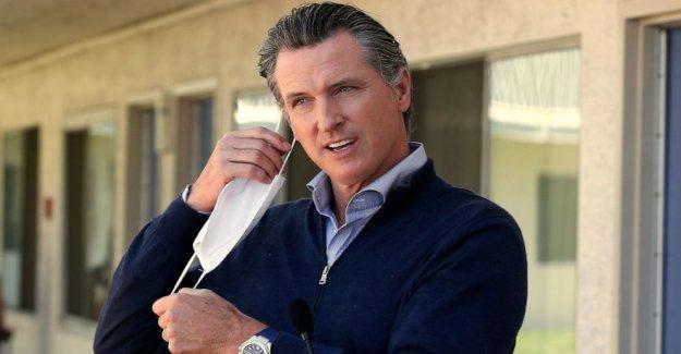 El gobernador de California en el asiento caliente sobre la respuesta a la pandemia