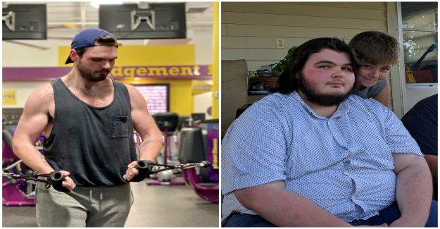 El hombre empezó a 220 libras de viaje de pérdida de peso por comer sólo 1 tipo de vegetal verde