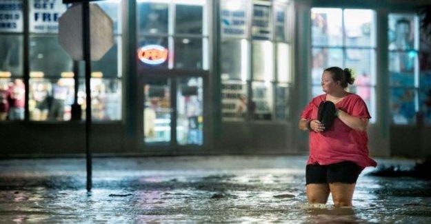 El huracán Isaias pestañas Carolinas