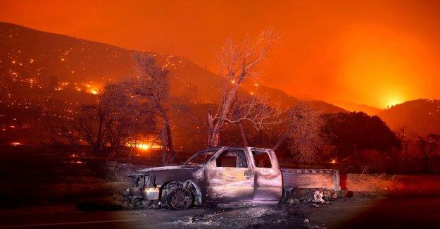 El lago de Fuego en California ve 'explosiva' crecimiento, quemaduras de 10.000 hectáreas en cuestión de horas