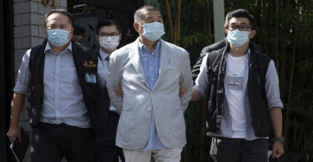 El magnate de los medios de comunicación Lai detenido en virtud de HK ley de seguridad