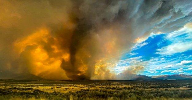 El récord de calor y el peligro de incendios en el Oeste, el Atlántico medio, el riesgo de inundaciones en el Este de
