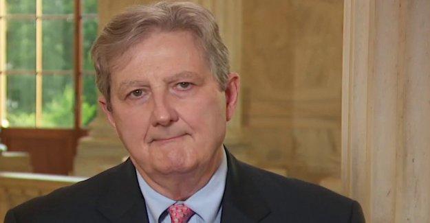 El senador Kennedy culpa a los Demócratas por hacer ningún avance en las negociaciones relativas al alivio de coronavirus