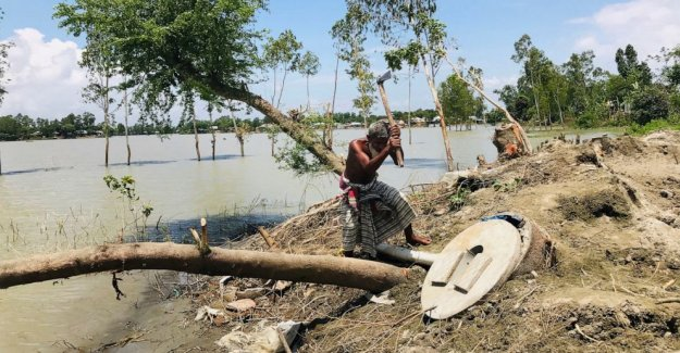 El sur de Asia cuenta las pérdidas por los efectos devastadores de las inundaciones del monzón