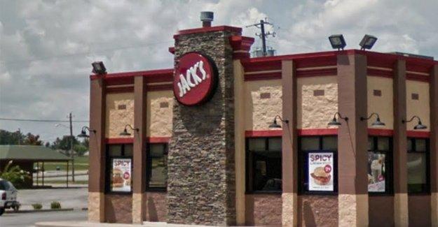 El sur de comida rápida de la cadena de la celebración de influencia de concurso para los abuelos