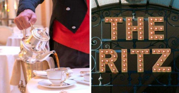El té en el Ritz opacado por tarjeta de crédito estafadores