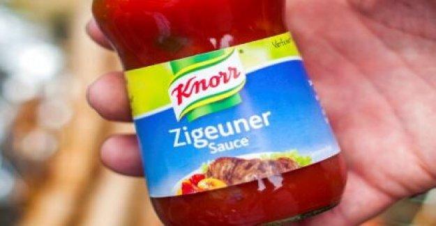 Empresa de comida alemana a cambio racista nombre de la popular 'salsa gitana'