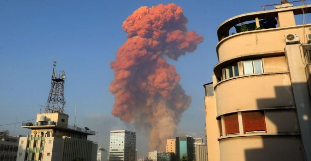 Enorme explosión sacude el Líbano de la capital