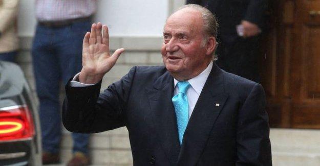 España del ex-Rey Juan Carlos para salir del país