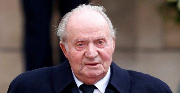 España rompecabezas sobre el ex rey del paradero