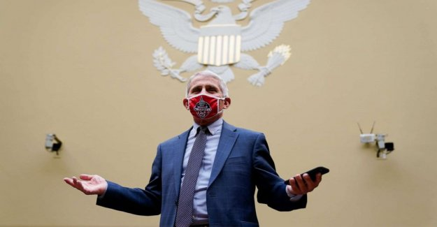 Fauci testifica 'altamente contagiosa' virus no desaparecerá, como Trump abucheos a los Dems