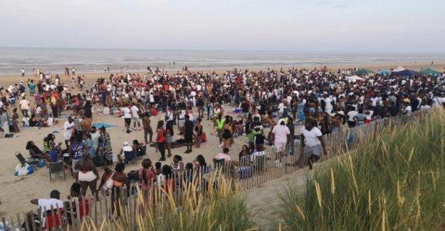 Fiesta en la playa organizador paga £750 para la limpieza de la caridad