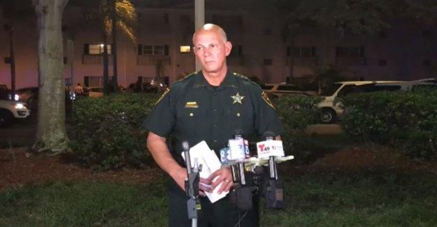 Florida oficial temía por la vida antes de disparar, matando a sospechar que se estaba asfixiando: el sheriff