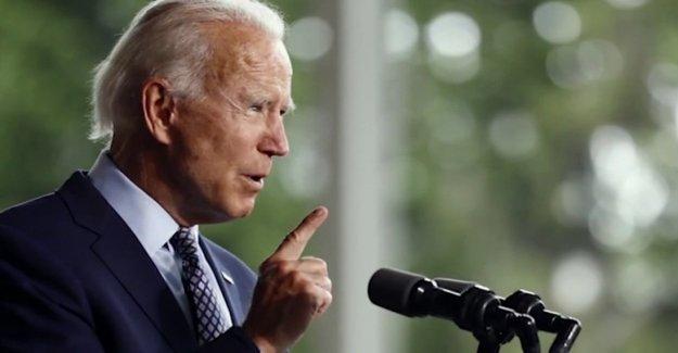 Fox News spots Biden hacer sin previo aviso de viaje a los alrededores del centro de convenciones