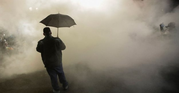 Gas lacrimógeno en Portland protestas plantea la preocupación sobre la contaminación