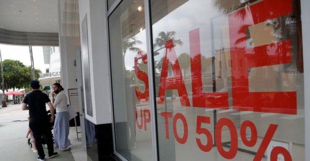 Gasto de los consumidores estadounidenses hasta el 5,6%, pero el virus podría convertirse en ganancias