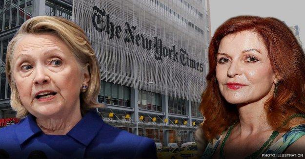 Hillary Clinton rip new york Times' Maureen Dowd para reivindicar la mujer no ha estado en Dem billete en '36 años