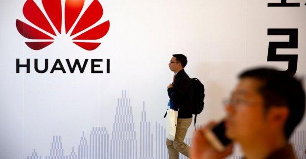 Huawei: el Smartphone fichas ejecutando bajo sanciones de ee uu