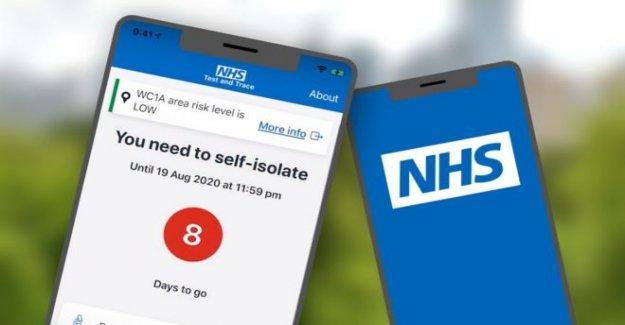 Inglaterra coronavirus de la aplicación de prueba se pone en marcha