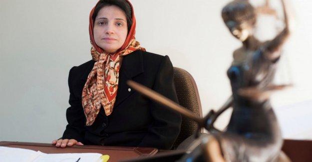 Iraníes encarcelados abogado de derechos humanos comienza huelga de hambre