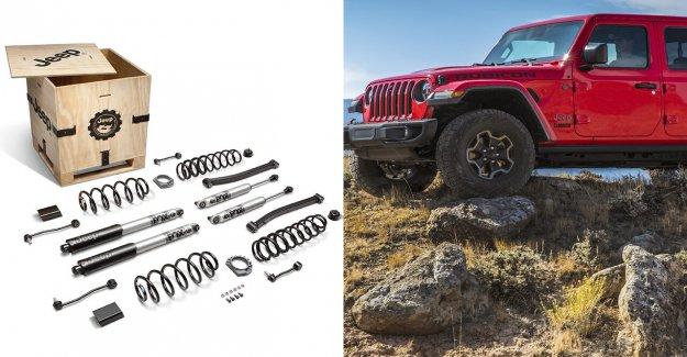 Jeep diesel da el Wrangler y el Gladiador de un ascensor ... kit de