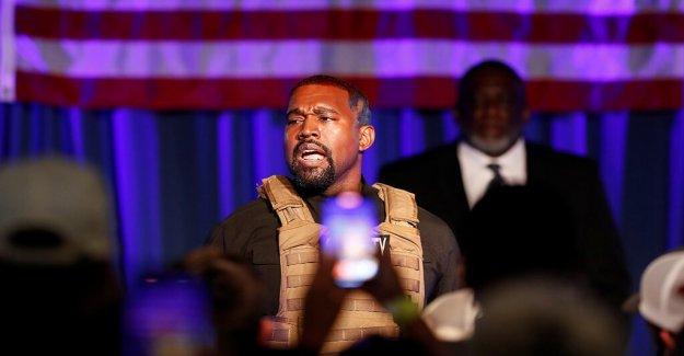Kanye West indica que se está ejecutando para el presidente de sifón votos de Joe Biden
