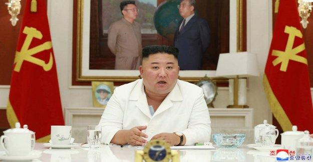 Kim Jong un se declara Corea del Norte va a rechazar la ayuda exterior para luchar contra coronavirus, para ayudar a la reconstrucción después de los daños por inundaciones