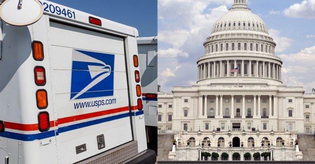 La Casa blanca empuja compromiso en la oficina de correos de fondos, cheques de estímulo