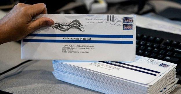 La Oficina de correos advierte a los estados a través de NOSOTROS sobre el voto por correo