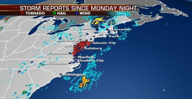 La Tormenta Tropical Isaias causado 147 mph ráfaga de viento en la cima del Monte Washington en New Hampshire