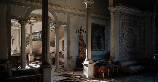 La explosión destruyó histórico palacio del siglo 19 en Beirut