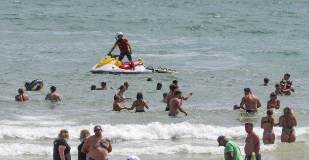 La guardia costera de advertencia después del día más ocupado en cuatro años