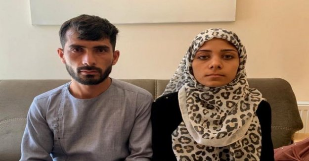 La pareja culpado por un ataque de su boda