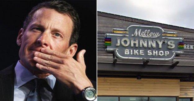 Lance Armstrong Texas tienda de bicicletas cortes de lazos con la policía de Austin