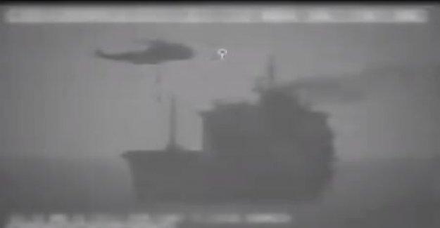 Las fuerzas iraníes comandar petrolero en el Golfo pérsico, Centcom dice