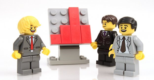 Legoland en Texas reorganiza Lego minifiguras (minifigures), lugares todos ellos de 6 pulgadas de distancia