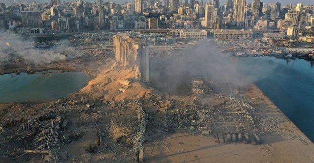 Libanés enfrentar la devastación después de la masiva explosión en Beirut