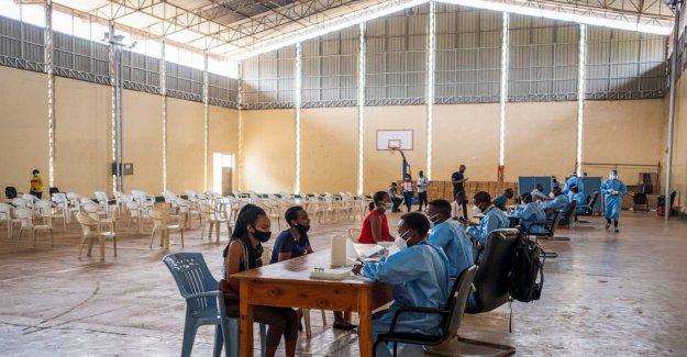 Limitada COVID-19 de pruebas? Los investigadores en Ruanda tiene una idea