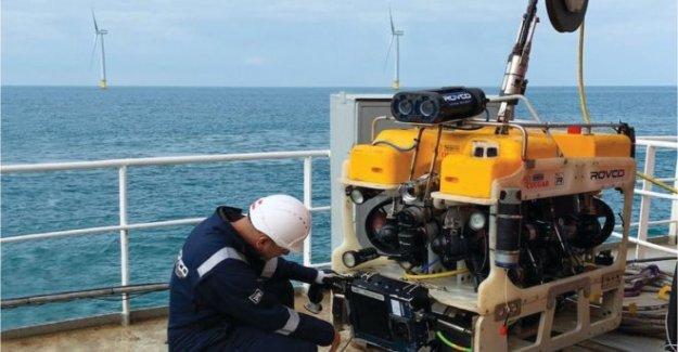 Los Robots de seguir su propio camino en las profundidades del océano
