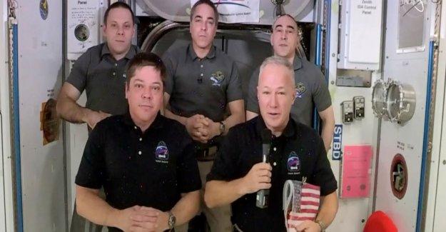 Los astronautas de cara al tramo final de SpaceX vuelo de prueba: coming home