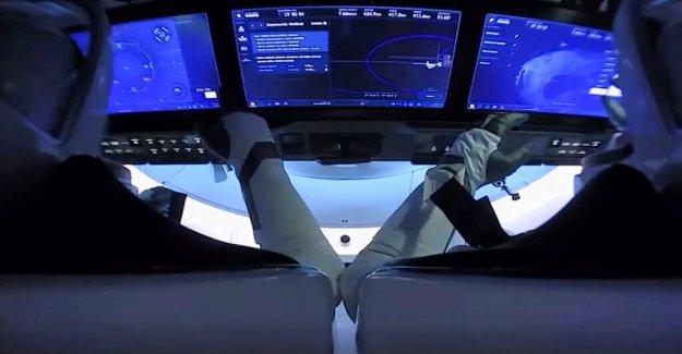 Los astronautas de la NASA objetivo para la costa de Florida a finales de SpaceX vuelo