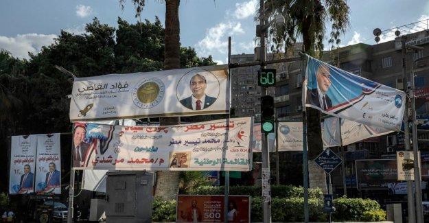 Los egipcios empezar a votar para revivió la cámara alta del parlamento